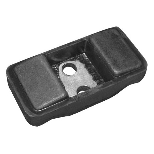 Dust cover for engine mounting