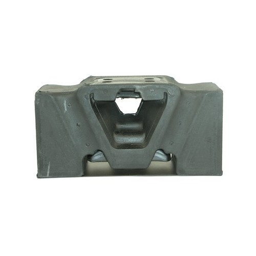 Engine mounting with metal plate and 4 holes