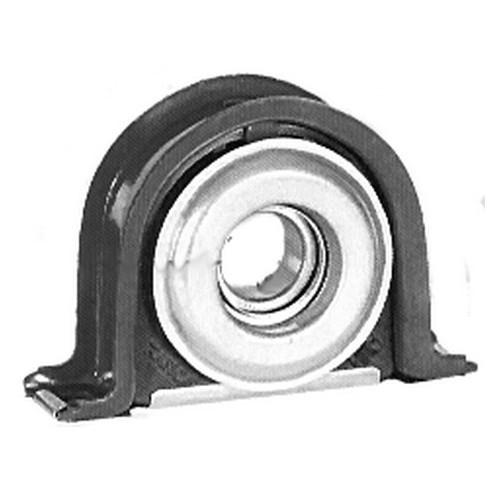 Propeller shaft bearing with ball bearing