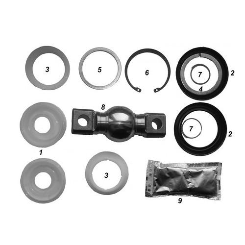Repair kit axle rod