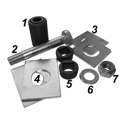 Repair kit for trailling arm
