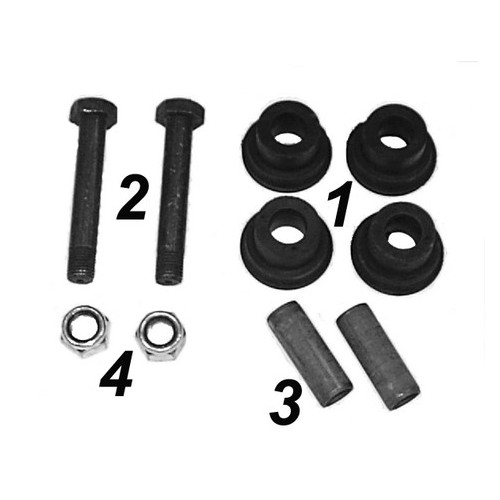 Repair kit stabilizer for cabin support