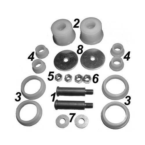 Repair kit stabilizer, rear