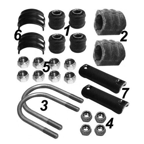 Repair kit stabilizer