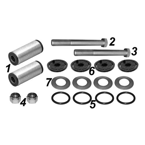 Repair kit spring bushing