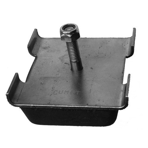 Rubber metal pad with bolt