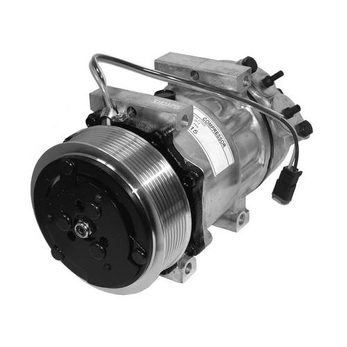 Klimakompressor mit Kupplung