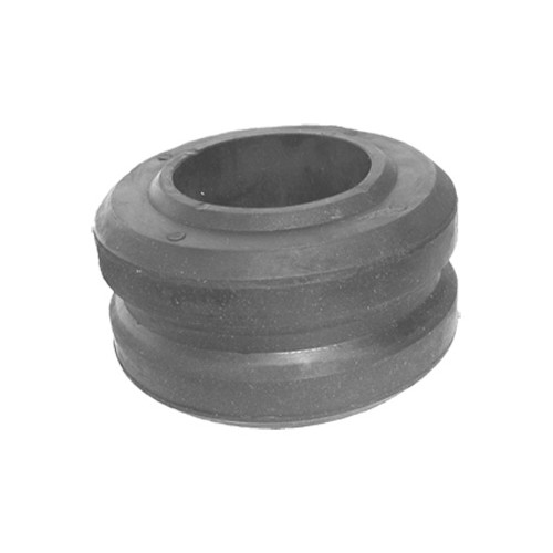 Rubber bearing, radiator, lower