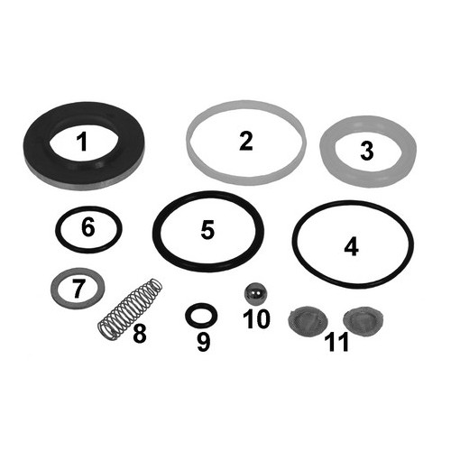 Repair kit cylinder, cabin
